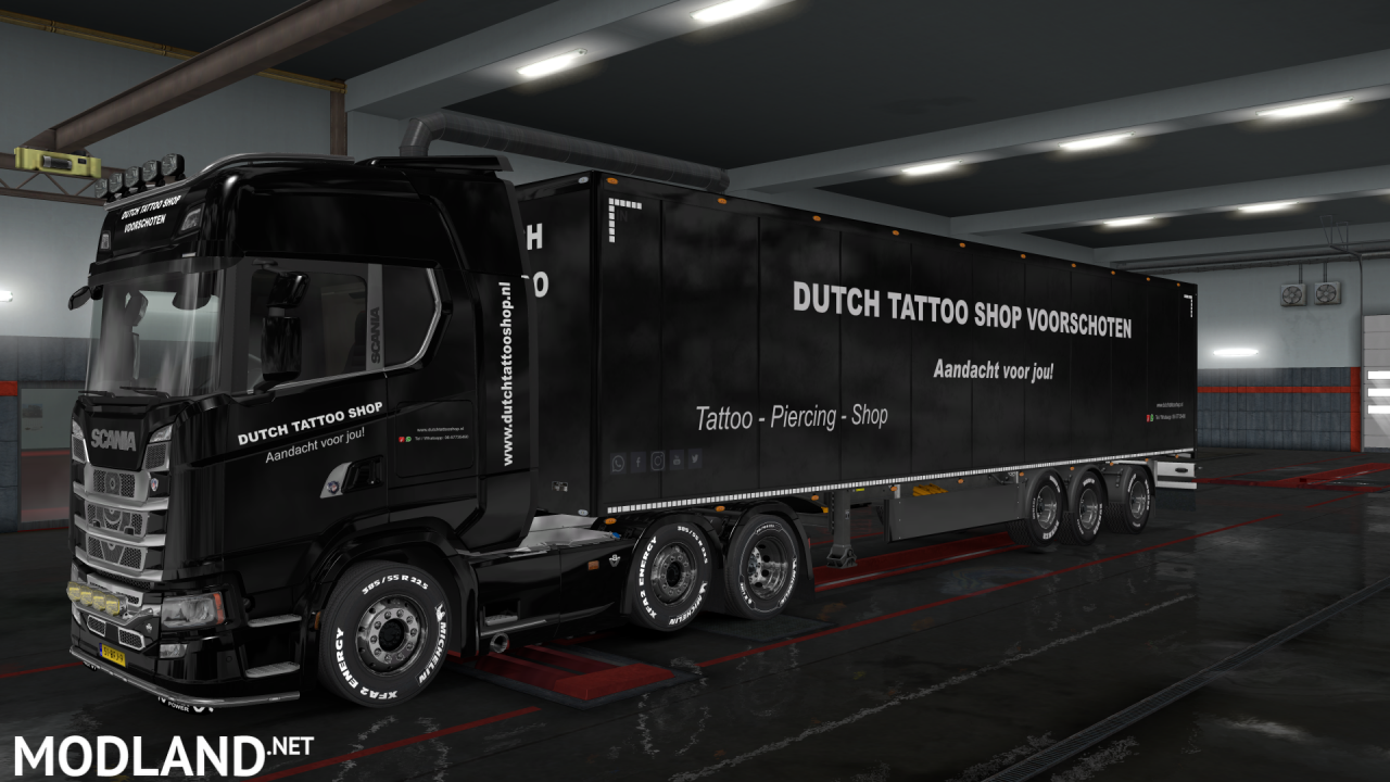 Dutch Tattoo Shop voor versie 1.33