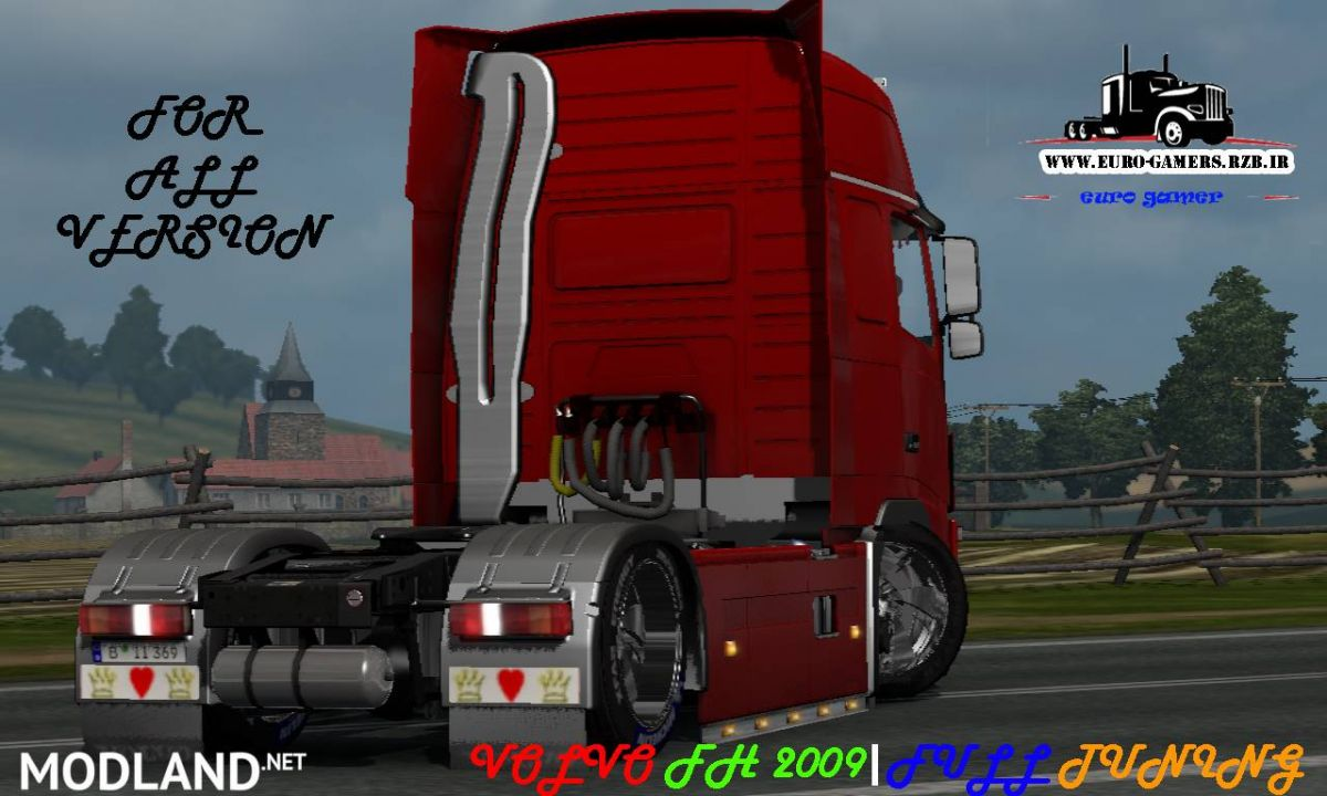 VOLVO FH 2009 FULL TUNING 1.27 TO 1.33