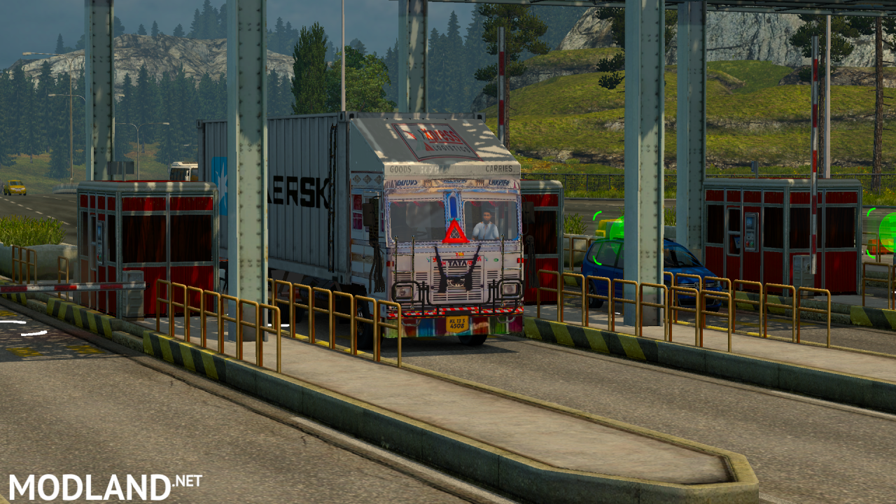 TATA 1615 Container truck mod ets2