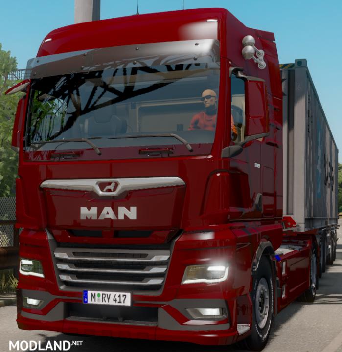 MAN TGX 2020 and Iveco S-Way