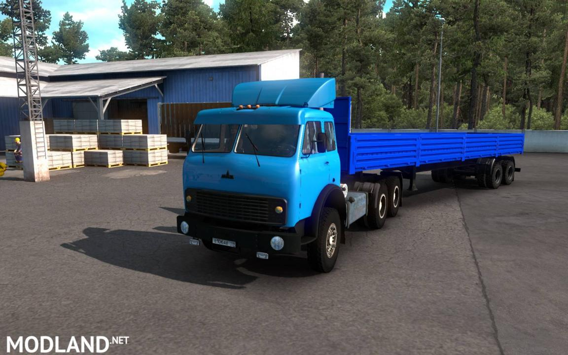 Maz 504B-515B for ETS2 1.38 update