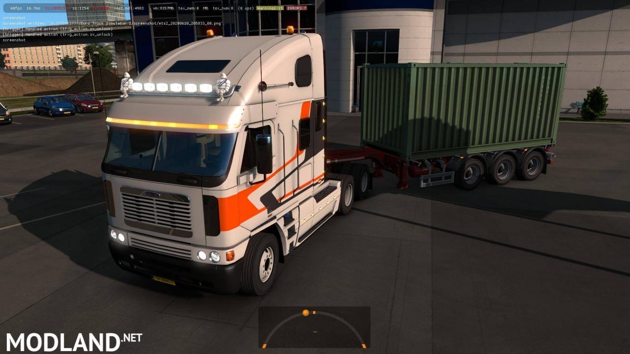 Freightliner Argosy v 2.5 ETS2 1.37