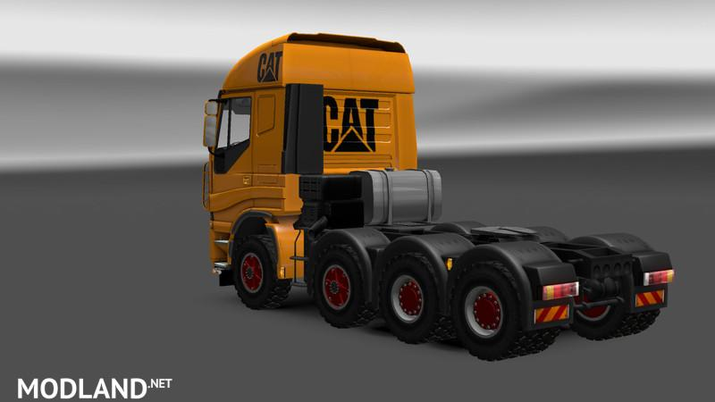 Iveco Construction Vehicle Skin