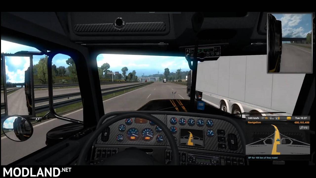 ETS2 - Knight Rider 'Turbo boost' engine for Vipers Peterbilt 389