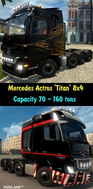 Mercedes Actros 4160 SLT 'Titan' 8x4
