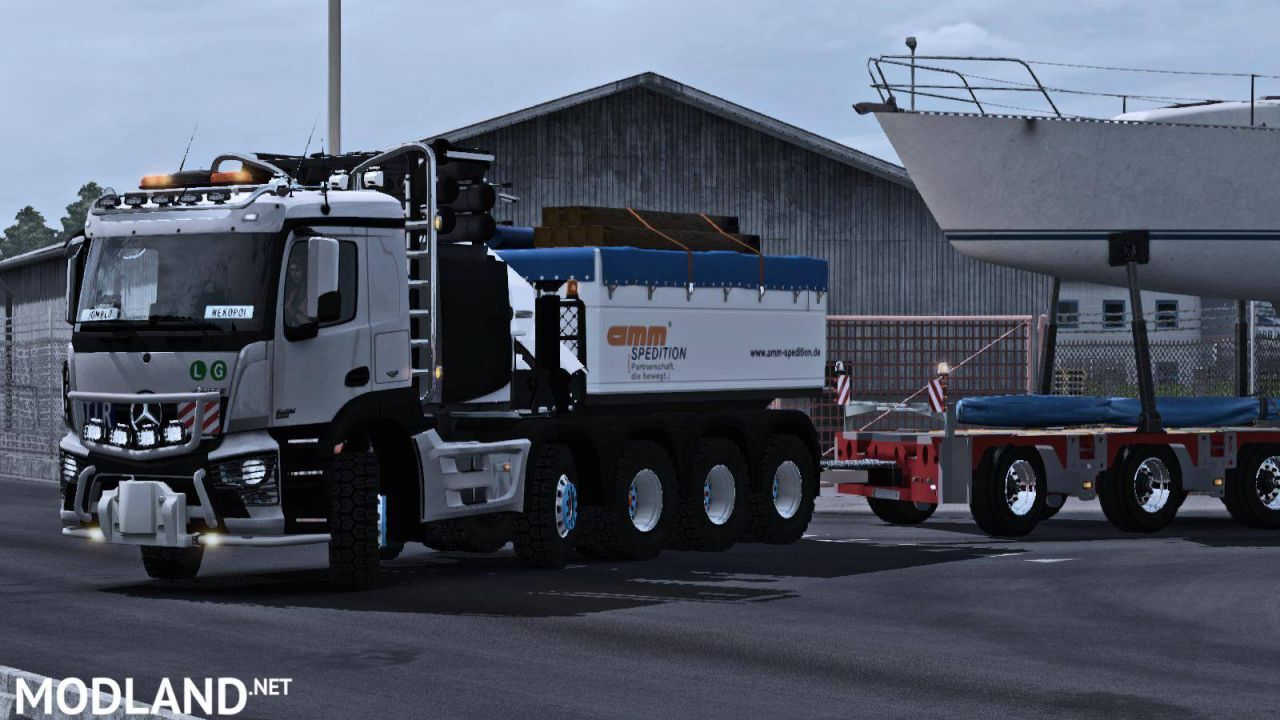 Mercedes Antos 10×6 Normal & Ballast Truck