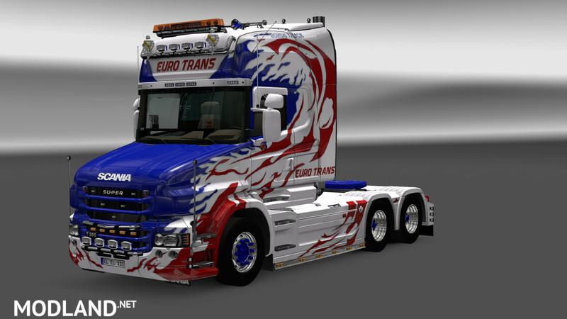 Scania T Longline Reworked