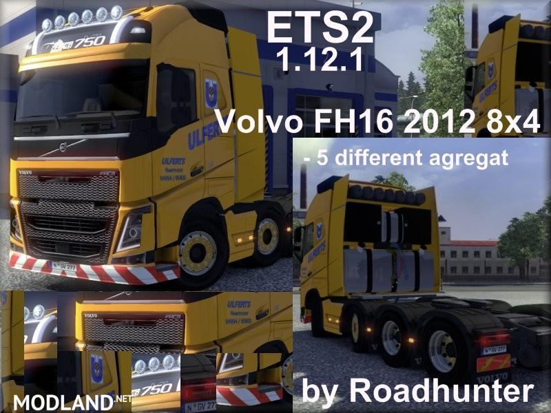 Volvo FH16 8x4 2012 Ulferts