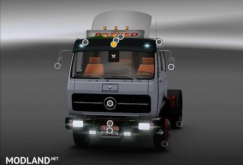 мод мерседес для Euro Truck Simulator 2 скачать - фото 2