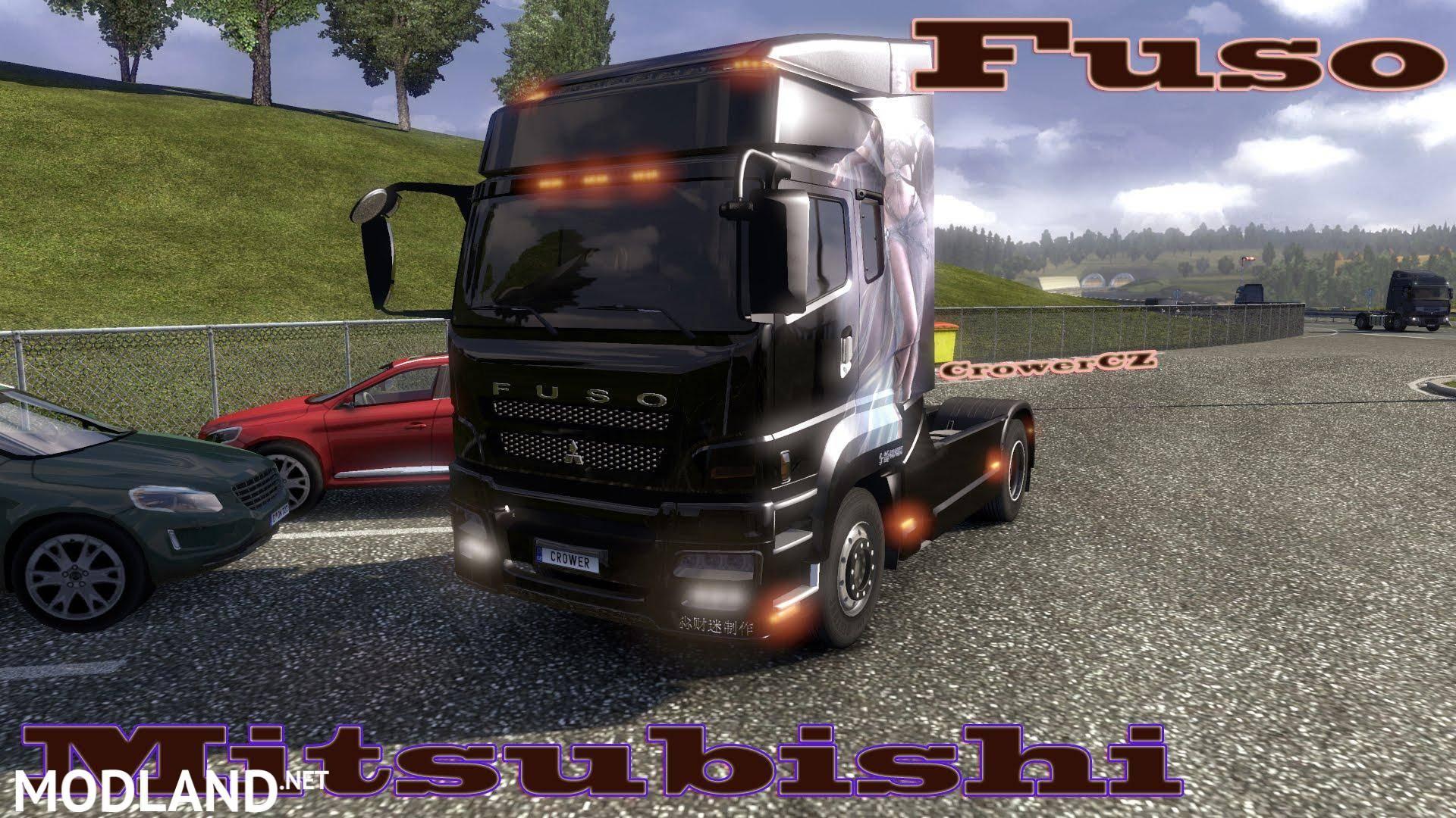 Mitsubishi Fuso mod for ETS 2