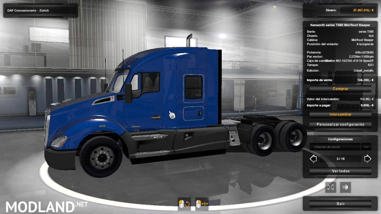 pack usa trucks ets  mod  ets