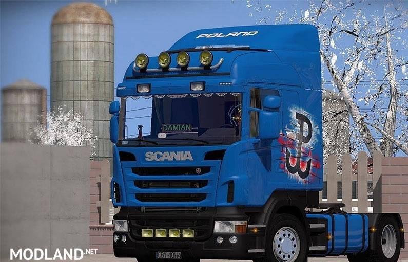 Scania R440 Poland Transport Mod For Ets 2