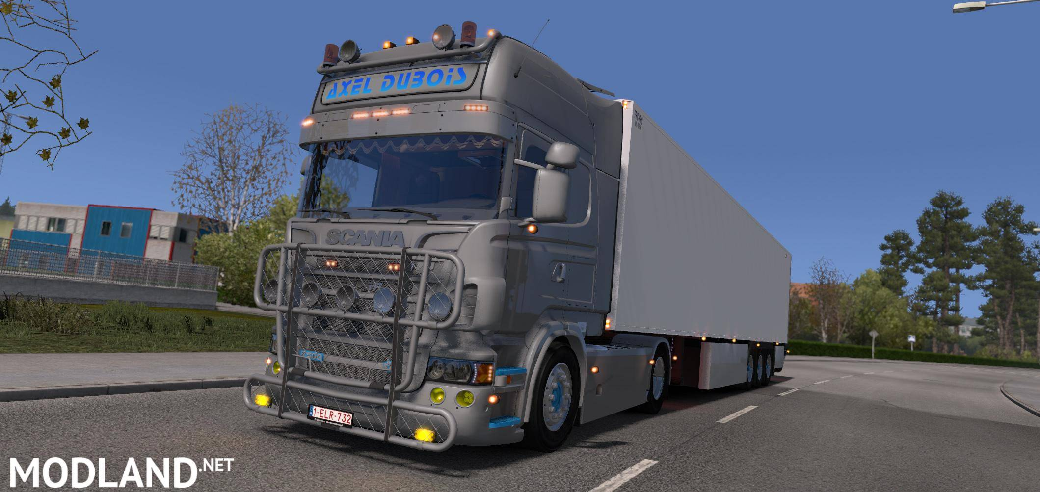 Scania R500 Axel Dubois With Lamberet Sr2 1 23 Mod For Ets 2