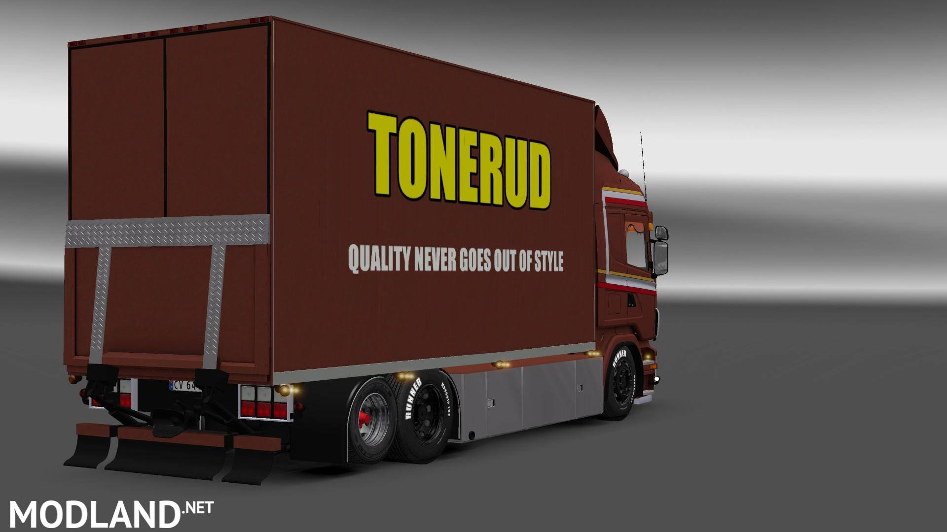 Scania Tonerud Mod For Ets 2