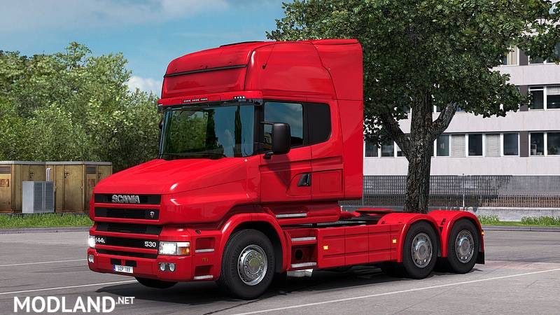 Scania T4 series addon for Scania T RJL mod for ETS 2