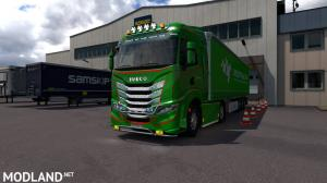 Iveco S-Way Realistic interior v2.5 1.37 & 1.38, 1 photo