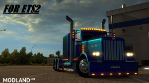 Peterbilt 389 Modified v 1.13 for ETS2, 1 photo