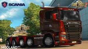 Scania illegal V8 Reworked v5.0 (1.26.x), 1 photo