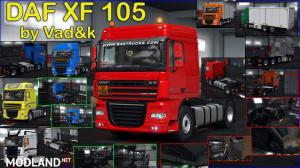 DAF XF 105 by vad&k v7.0 (1.37.х)