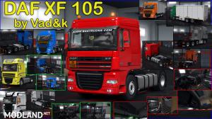 DAF XF 105 by vad&k v7.1 (1.38.х), 4 photo