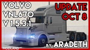 Volvo VNL 670 v 1.5.3.1 by Aradeth [ETS2 v1.32], 1 photo