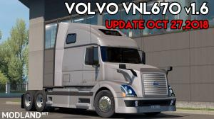 VOLVO VNL670 V1.6 by ARADETH for ETS2 (Official Update), 1 photo