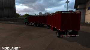 Scania cattle and trailer, 1 photo