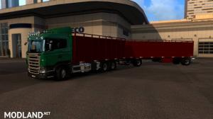 Scania cattle and trailer, 2 photo