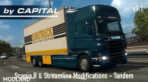 Scania R & Streamline by RJL Tandem v1.1