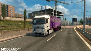 Mercedes Actros MP4 Reworked v1.8 [Schumi] [1.33-1.34], 2 photo