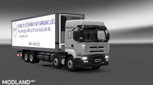 Frozen chenglong trucks 1.24 1.25 1.26, 1 photo