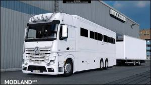 Mercedes MP4 Actros Motorhome, 1 photo