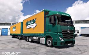 Mercedes Actros MP4 edit by Alex v1.5 [1.35/1.36], 2 photo