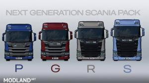 Next Generation Scania P G R S