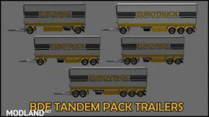 BDF Tandem Truck Pack v137.0 1.37.x, 2 photo