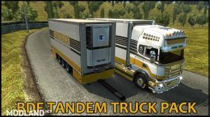 BDF Tandem Truck Pack v137.0 1.37.x, 1 photo