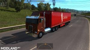 Peterbilt 362 in Traffic 1.35, 1 photo
