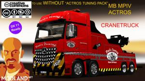 MB ACTROS MPIV CRANETRUCK 1.35.x DX11 (NO ACTROS TUNING PACK), 1 photo