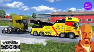 MB ACTROS MPIV CRANETRUCK 1.35.x DX11 (NO ACTROS TUNING PACK), 3 photo
