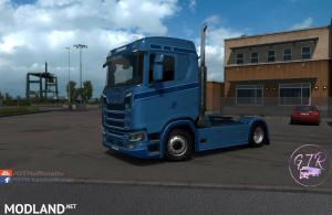Cabin Without Fairing for Scania S Next Gen