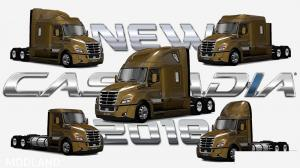 Freightliner Cascadia 2018 1.25, 2 photo