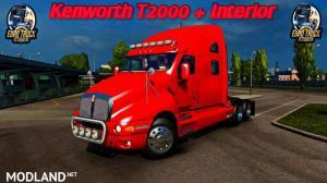 Kenworth T2000 (ETS2 v1.35.3.14s), 1 photo
