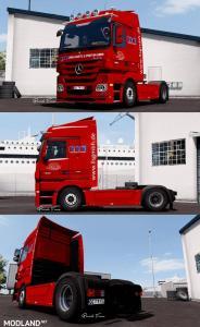 LLS Mercedes Benz Actros + Krone Trailer, 3 photo