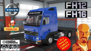 VOLVO FH MK1 FIXED UP!(FH12 & FH16) ETS2 1.31.x, 1 photo