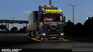 Ozan Scania Truck R400 + Engine Sound