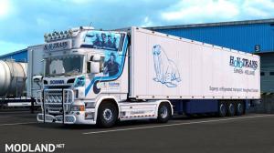 Scania R580 HovoTrans & Schmitz Trailer