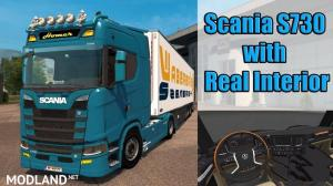 Scania S730 2017 with Real Interior, 1 photo