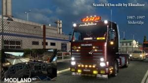 Scania 143m – Edit by Ekualizer for patch 1.27, 3 photo