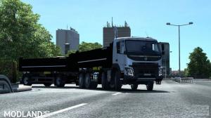 Volvo FMX Kipper Rework by Mistersix 1.1 [Trailer added], 2 photo