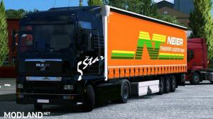 MAN TGA + Wielton trailer, 1 photo